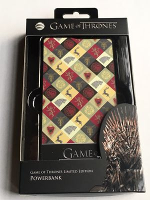 Limited Edition Game of Thrones Power Bank for Sale in Rosemead, CA
