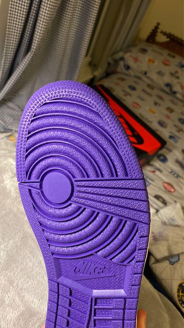Jordan 1 Retro High Og Court Purple 2.0