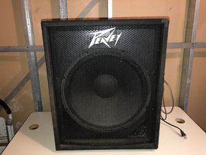 Peavey18 inch sub with klipsch 12 inch home theater ramp for Sale in Wichita, KS
