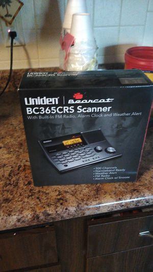 Uniden police scanner for Sale in Fall River, MA