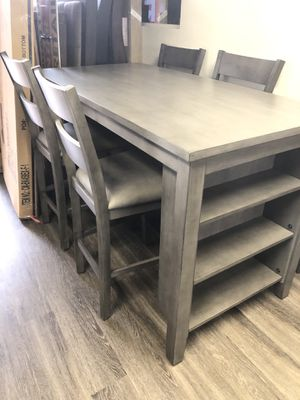 🍁💥New! Urban grey quality dining set for Sale in San Diego, CA