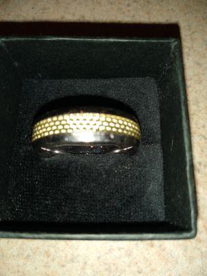 Men's sterling silver wedding ring size 13 for Sale in Jacksonville, FL
