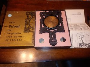 Cast iron elec-trivet cup hot plate for Sale in Hillsboro, MO