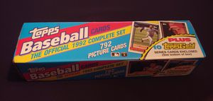 1992 Topps Baseball Cards - NOT a Complete Set - Many HOF and Rookies for Sale in Granite Falls, WA