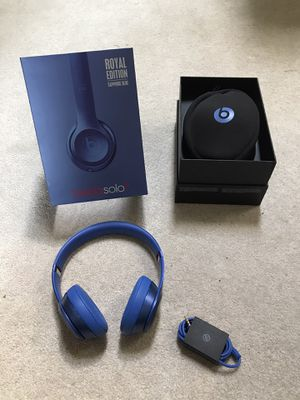 Sapphire Blue Beats Solo 2 Headphones for Sale in Utica, MI