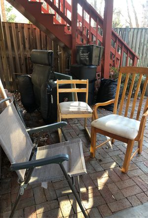 Free chairs for Sale in Fairfax, VA