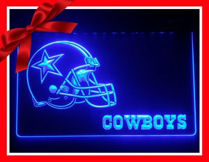 🏈NEW 3D DALLAS COWBOYS LED SIGN🏈MAN CAVE. BAR. NIGHT LIGHT🏈 for Sale in Ontario, CA