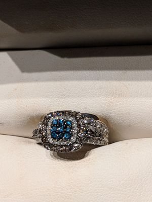 Engagement and Wedding Ring Set (size 5) for Sale in West McLean, VA