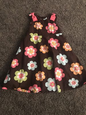 Girls brown flower dress size 7 by Gymboree #13 for Sale in Atwater, CA