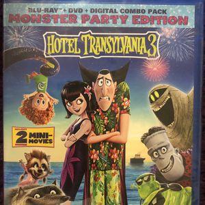Hotel Transylvania 3 Blu Ray, DVD, & Digital Copy for Sale in Hacienda Heights, CA