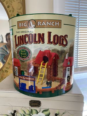 Lincoln logs Big L Ranch 150 piece set for Sale in Wallingford, CT