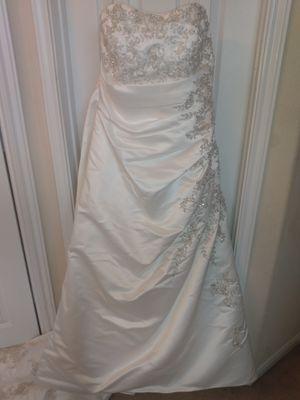 David's Bridal wedding dress for Sale in Conroe, TX