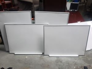 used WHITE BOARDS FOR SALE!!!!....4ftx3ft...each for Sale in Houston, TX