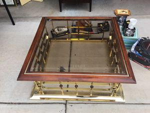 Glass top coffee table for Sale in Tempe, AZ