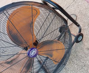 "36"" Tilt Fan, two speeds. Working. Portable Blower Drum Fan. $299 store price for Sale in Richardson, TX"