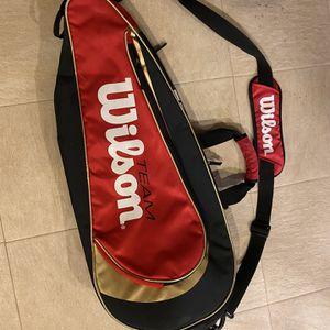 wilson tennis racquet bag for Sale in Bellevue, WA