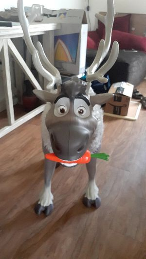 Sven Reindeer Frozen 2 My Size Playdate Sven with Sounds for Sale in Jacksonville, NC