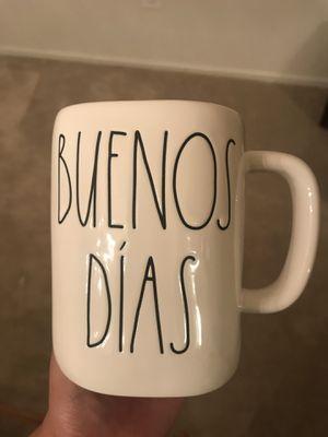 Rae Dunn buenos Dias mug for Sale in San Bernardino, CA