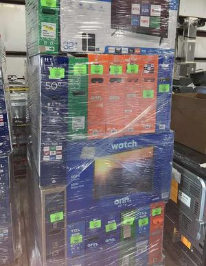 """Open box tv liquidation! Hurry! Come to 8231 burnet road Austin Texas open ! Open daily 10-7pm ! We have sizes from 19""""-65"""" ! Samsung Vizio lg Tcl an for Sale in Houston, TX"""