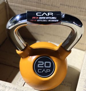 20lb Rubber Coated Kettlebell for Sale in Torrance, CA