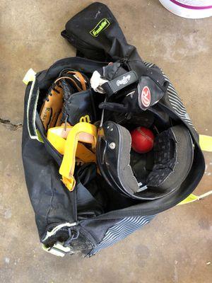 Kid baseball equipment for Sale in San Diego, CA