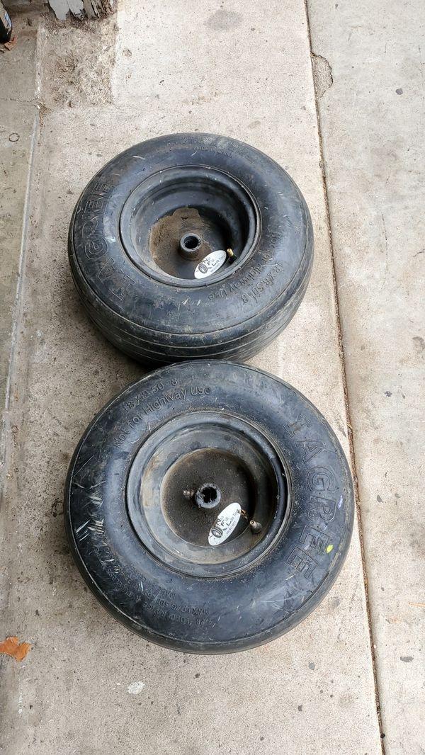 Iagree Non Flat Flat Free Rib Pattern Turf Tractor Lawn Motor Tires