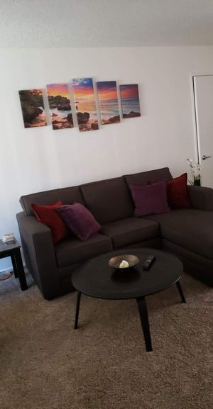 Living Room Set. Sofa Bed with coffee table and end tables for Sale in Rowland Heights, CA