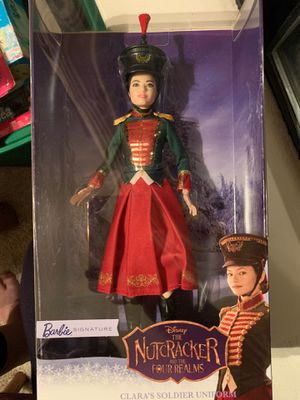 BARBIE Doll CLARA'S SOLDIER UNIFORM Signature NUTCRACKER and the Four Realms TOY for Sale in Fairfield, CA