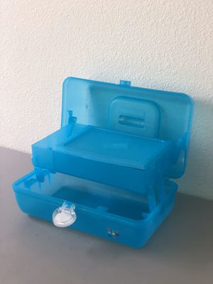 CABOODLES TOOL/COSMETIC/TOYS/COLLECTABLES BOX -$15 for Sale in Cerritos, CA