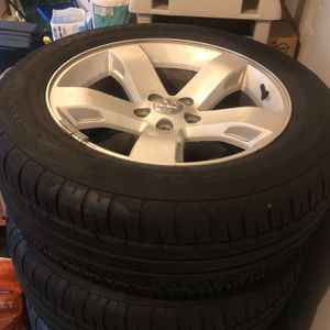 Full Set Rims And Tires Dodge Challenger (Stock) for Sale in Tukwila, WA