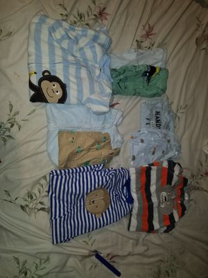 3 months boy shirt,sweat one'z for Sale in Selma, CA