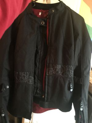 Women's medium motorcycle jacket for Sale in Gonzales, LA