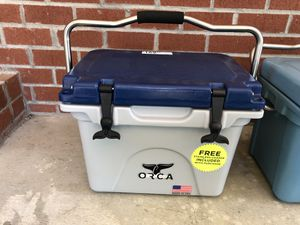 Orca Ice Retention Cooler 20qt for Sale in Fort Washington, MD