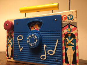 """Fisher Price Vintage 1960's Jack Jill TV Radio Musical Toy Nursery Decor. Condition is """"Used"""" and shows obvious signs of wear from age (please refer for Sale in Atlanta, GA"""