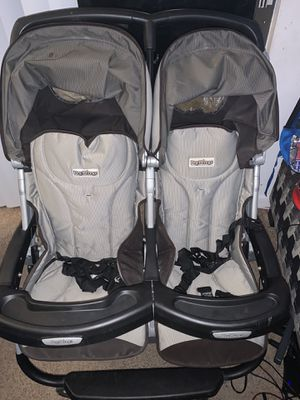 peg perego aria double stroller for Sale in Milford, OH