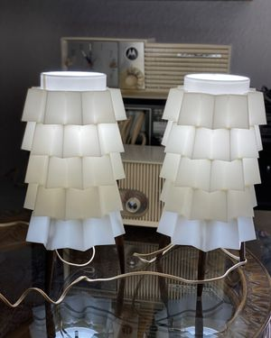 Vintage Mid Century Art Deco Lamps - Both Lamps Work for Sale in Fort Worth, TX