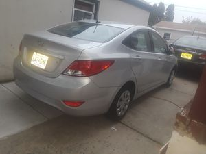 2014 Hyundai Accent one owner automatic transmission good running condition cling rebuilt title for Sale in Perth Amboy, NJ