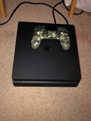PS4 Slim with controller for Sale in Grand Prairie, TX