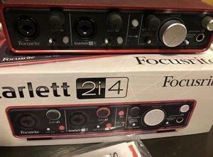 Focusrite 2I4 USB Audio interface (New) for Sale in Norfolk, VA