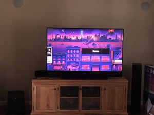 65 inch DLP Mitsubishi TV excellent picture just replaced lamp bulb. for Sale in Ellington, CT