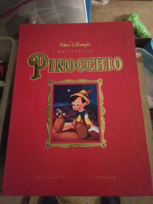 Pinocchio Disney Masterpiece Piece Deluxe Video Edition for Sale in Leander, TX