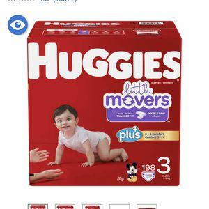 Huggies Size 3 for Sale in Woodbridge Township, NJ