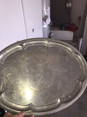 Tray silver for Sale in Canyon Lake, CA