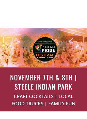 PHOENIX PRIDE 2020 November 7-8 for Sale in Tempe, AZ