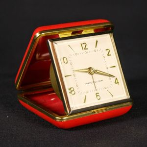 Retro vintage Westclox Tourino travel folding clock for Sale in Covina, CA