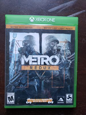METRO Redux for XBox One for Sale in San Diego, CA