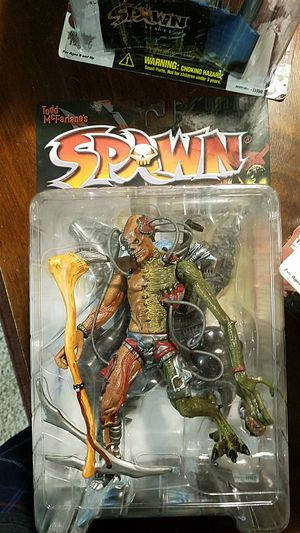 Todd Mcfarlane's Spawn, Dark ages spawn, curse of the spawn collection action figures for Sale in Fresno, CA