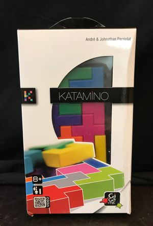 Gigamic-KATAMINO. Pocket- Puzzle Game For one player. Travel size. for Sale in Tustin, CA