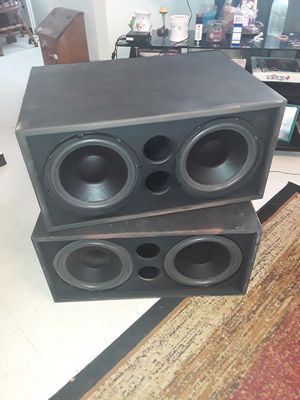 Oldschool JL audio subs for Sale in Staunton, IL