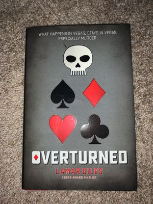 Overturned, Hard Cover for Sale in Seaford, DE